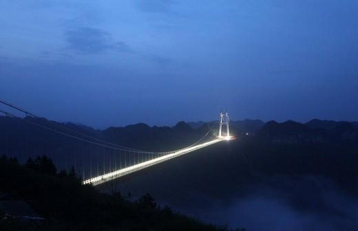 Dünyanın En Yüksek Asma Köprüsü 8