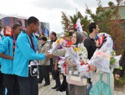 Türkçenin Çocukları Afyonkarahisar'da Coşkuyla Karşılandı