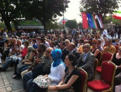 Tataristanın Milli Bayramı Sultanahmet Meydanında Kutlandı