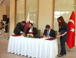 Türkiye Ve Katar Arasında Mutabakat Zaptı İmzalandı