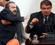 Mecliste Çayan kavgası