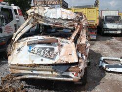 Düğün Yolunda Kaza: 2si Çocuk 3 Ölü, 8 Yaralı