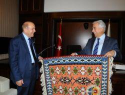 KUZU, Adana Büyükşehir Belediyesini Ziyaret Etti
