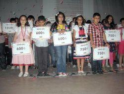 Altın Çocuklar Ödüllendirildi