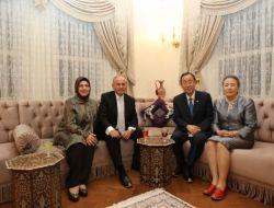 Kadir Topbaş Ban Ki-moonu Evinde Ağırladı