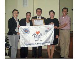Ormanlı İlköğretim Okuluna Beyaz Bayrak Ödülü