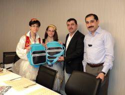 Türkce Olimpiyatlarının Yetenekli Öğrencileri Ufuk Okullarını Ziyaret Etti