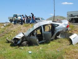 Bitliste Trafik Kazası: 7 Yaralı