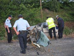 Tekirdağda Trafik Kazası: 1 Ölü, 1 Ağır Yaralı