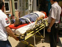 Keşan'daki Kazada 1 Kişi Yaralandı