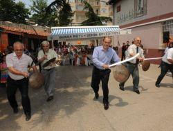 Başkan Altepe'den Kılıç Kalkan Gösterisi