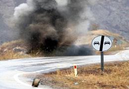 Yüksekovada patlama