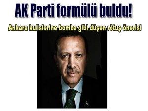 AK Parti formülü buldu!