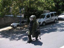 Başbakanın Geçiş Güzergahındaki Çanta Patlatıldı