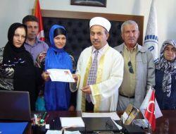Moldovalı Lıuba Streletchi Müslüman Oldu