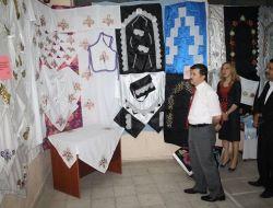 Halk Eğitim Merkezi'nde Yıl Sonu Sergisi Açıldı