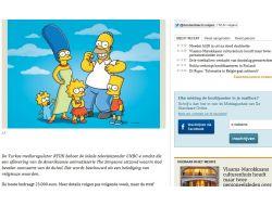Rtükün The Simpsons Cezası Belçika Medyasında