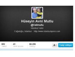 Tatil Beklentisi Vali Mutlu'ya Twitter'de 80 Bin Takipçi Kazandırdı