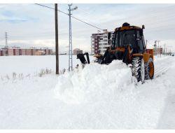 Ardahanda Karla Mücadele Çalışması Sürüyor