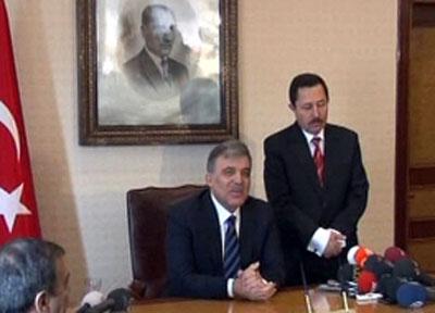 Cumhurbaşkanı Gül Afyonkarahisar'da..