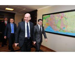 Süleyman Soylu, Kepez Ve Döşemealtı Belediyelerini Ziyaret Etti