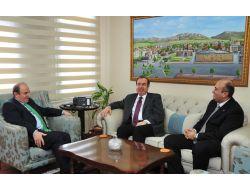 Ab Bakan Yardımcısı Büyükkaya'dan Vali Öztürk'e Ziyaret