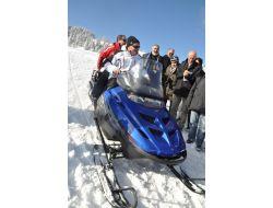 Ilgazda Kayak Sezonu İçin Resmi Açılış Yapıldı