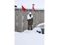 Bitliste Kar Yağışı 7 Gün Sonra Durdu