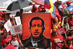 Chavez için sembolik yemin töreni