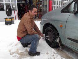 Lastikçilerde Kar Lastiği Kalmadı!
