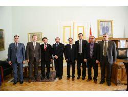 Makedon Akademisyenler İlişkilerin Geliştirmek İçin Bursaya Geldi