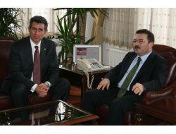 Ankara Barosu Başkanı Feyzioğlu, Vali Selami Altınok'u Ziyaret Etti
