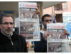 Bdpliler Paris Cinayetlerini Protesto Etti
