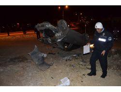 Kozanda Otomobil Takla Attı: 1 Yaralı