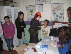 Yeşilırmak Sağlık Gönüllüleri Derneği'nden 93 Öğrenciye Sağlık Taraması