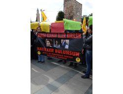 Bdp Antalya İl Teşkilatı Üyeleri, Paris'te Öldürülenler İçin Yürüdü