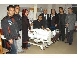 Suriyeli Hastalara Ak Partiden Ziyaret