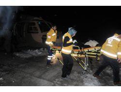 Mehmetçik, Hamile Öğretmeni Helikopterle Hastaneye Ulaştırdı