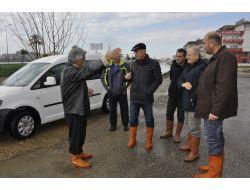 Belediye, Su Baskınlarına Karşı Kriz Masası Oluşturuldu