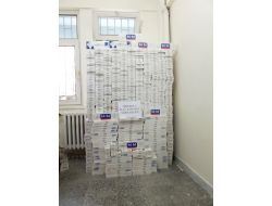 Tireboluda 6 Bin 480 Paket Gümrük Kaçağı Sigara