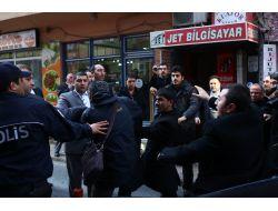 Bahçelinin Ziyaretinde Gazetecilere Çirkin Saldırı