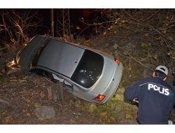 Otomobil, Evin Bahçesine Yuvarlandı