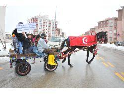 Başkan Gökçekten Atın Üzerine Türk Bayrağı Sarılmasına Tepki