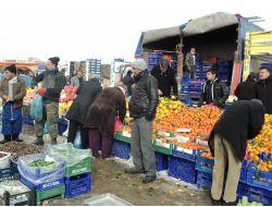 Boğazlıyan'da Kurulan Semt Pazarına Soğuk Engeli