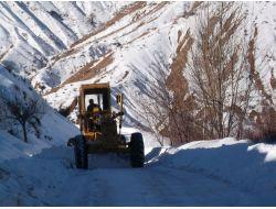 Elazığda 41 Köy Yolu Ulaşıma Kapalı