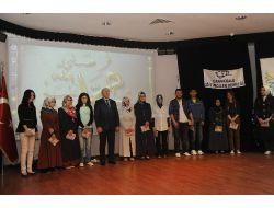 Çanakkaledeki 'herkes Onu Okuyor' Yarışmasının Ödülleri Verildi