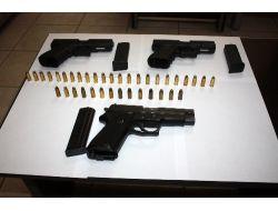 Glock Marka Silahlar Polisin Dikkatinden Kaçmadı