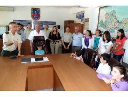 Samsun İl Jandarma Komutanlığı Minikleri Ağırladı