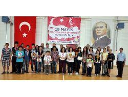 19 Mayıs Satranç Turnuvasında Dereceye Giren Sporcular Belli Oldu