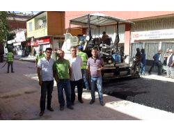 Yerköy'de Asfalt Yol Yapım Çalışması Devam Ediyor